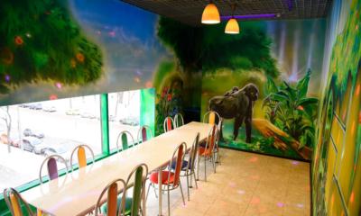 Комната в стиле « ЗОВ джунглей»