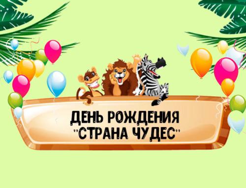День Рождения «СТРАНА ЧУДЕС»